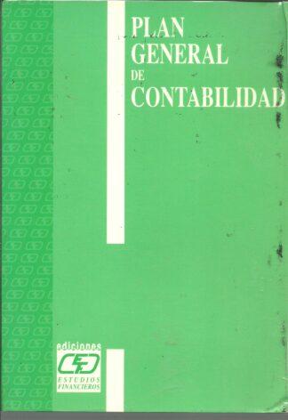 Portada PLAN GENERAL DE CONTABILIDAD - ANONIMO - ESTUDIOS FINANCIEROS