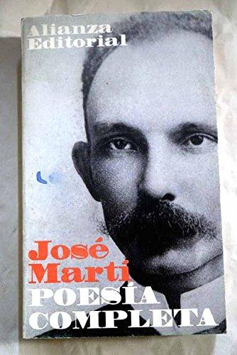 Portada POESIA COMPLETA  - JOSE MARTI  - ALIANZA