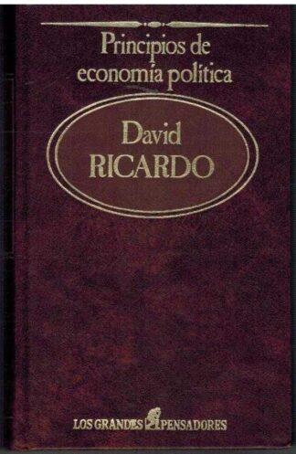 Portada PRINCIPIOS DE ECONOMIA POLITICA - DAVID RICARDO - SARPE