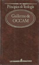 Portada PRINCIPIOS DE TEOLOGIA - GUILLERMO DE OCCAM - SARPE
