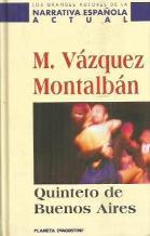 Portada QUINTETO DE BUENOS AIRES - MANUEL VAZQUEZ MONTALBAN - PLANETA DEAGOSTINI