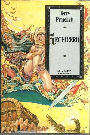 Portada RECHICERO - TERRY PRATCHETT - MARTINEZ ROCA