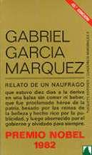 Portada RELATO DE UN NAUFRAGO - GABRIEL GARCIA MARQUEZ - TUSQUETS
