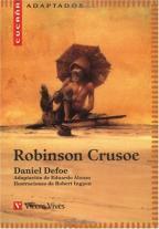 Portada ROBINSON CRUSOE - DANIEL DEFOE - VICENS VIVES