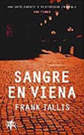 Portada SANGRE EN VIENA - FRANK TALLIS - STARBOOK
