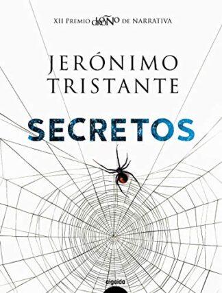 Portada SECRETOS - JERÓNIMO TRISTANTE - ALGAIDA