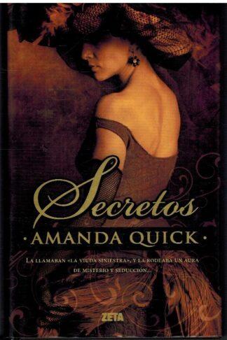 Portada SECRETOS - AMANDA QUICK - EDICIONES B / ZETA