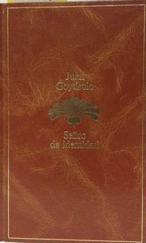 Portada SEÑAS DE IDENTIDAD - JUAN GOYTISOLO - SEIX BARRAL