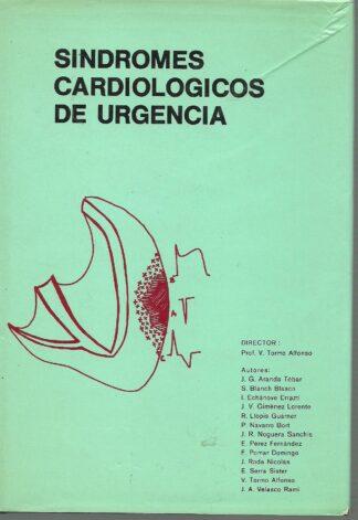 Portada SINDROMES CARDIOLOGICOS DE URGENCIA - V TORMO ALFONSO - QUILES