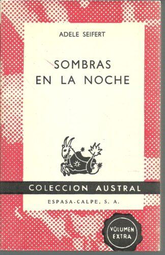 Portada SOMBRAS EN LA NOCHE - ADELE SEIFERT - ESPASA CALPE