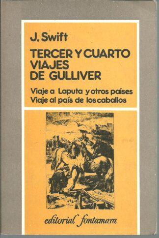 Portada TERCER Y CUARTO VIAJES DE GULLIVER - J SWIFT - FONTAMARA