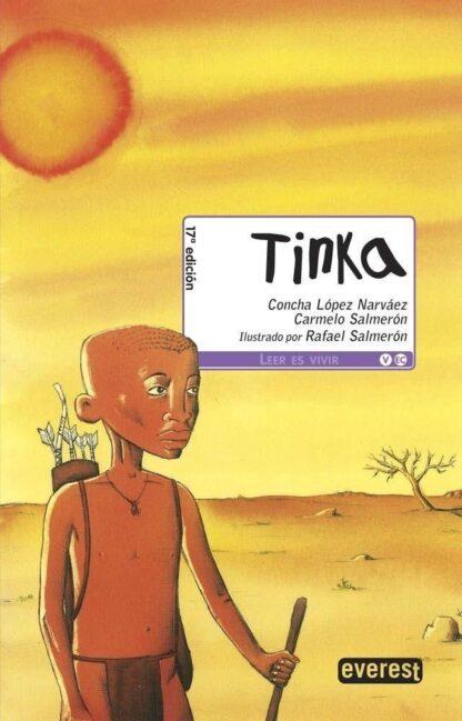Portada TINKA  -  CONCHA  LOPEZ - EVEREST