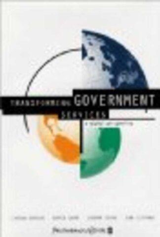 Portada TRANSFORMING GOVERMENT SERVICES - LYTON BARKER DAVID CARR JOSEPH KENOE IAN LITTMAN - PRICEWATERHOUSECOOPERS