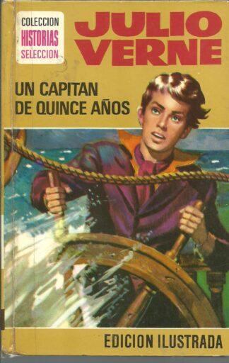 Portada UN CAPITAN DE QUINCE AÑOS - JULIO VERNE - BRUGUERA