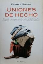 Portada UNIONES DE HECHO - ESTHER SOUTO - BELACQVA