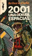 Portada 2001 UNA ODISEA ESPACIAL - ARTHUR C. CLARKE - EDICIONES GP