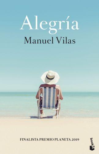 Portada ALEGRÍA - MANUEL VILAS - BOOKET