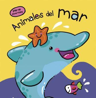 Portada ANIMALES DEL MAR POP UP DIVERTIDOS - AA.VV. - LIBSA