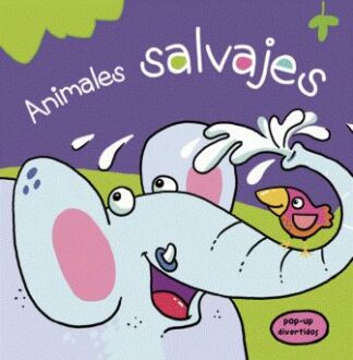 Portada ANIMALES SALVAJES POP UP DIVERTIDOS - AA.VV. - LIBSA