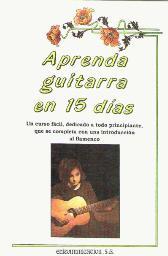 Portada APRENDA GUITARRA EN 15 DIAS - ROCIO JARAMILLO - EDICOMUNICACION
