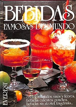 Portada BEBIDAS FAMOSAS DEL MUNDO - HENNING SAURE - EVEREST