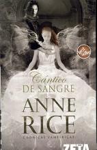 Portada CANTICO DE SANGRE - ANNE RICE - EDICIONES B ZETA