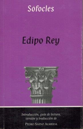 Portada EDIPO REY - SOFOCLES - KADMOS