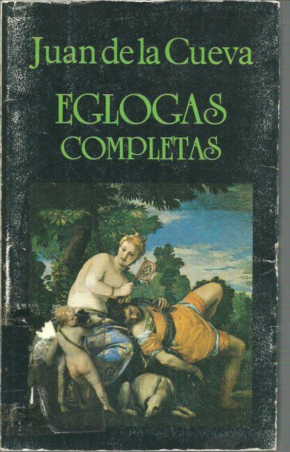 Portada EGLOGAS COMPLETAS - JUAN DE LA CUEVA - MIRAGUANO EDICIONES