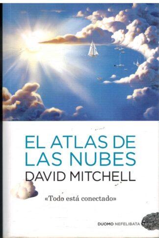 Portada EL ATLAS DE LAS NUBES - DAVID MITCHELL - DUOMO EDICIONES