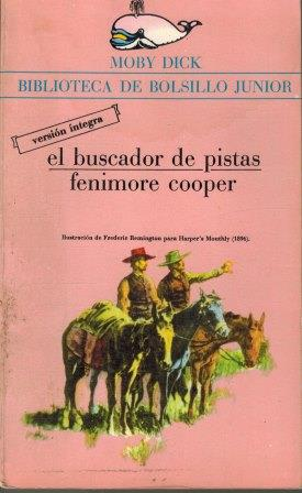 Portada EL BUSCADOR DE PISTAS - JAMES FENIMORE COOPER - LA GAYA CIENCIA