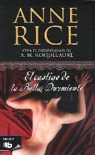 Portada EL CASTIGO DE LA BELLA DURMIENTE - ANNE RICE ( A. N . ROQUELAURE) - EDICIONES B ZETA