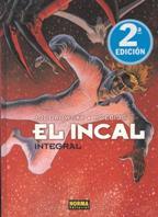Portada EL INCAL - JODOROWSKY Y MOEBIUS - NORMA EDITORIAL