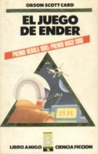 Portada EL JUEGO DE ENDER - ORSON SCOTT CARD - EDICIONES B ZETA