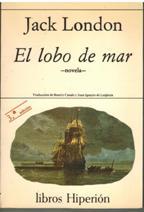 Portada EL LOBO DE MAR - JACK LONDON - EDICIONES HIPERION
