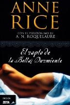 Portada EL RAPTO DE LA BELLA DURMIENTE - ANNE RICE ( A. N . ROQUELAURE) - EDICIONES B ZETA