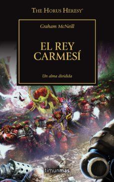 Portada EL REY CARMESÍ 44/54 - GRAHAM MCNEILL - MARTINEZ ROCA