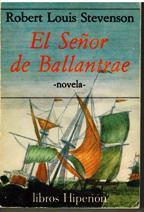 Portada EL SEÑOR DE BALLANTRAE - ROBERT LOUIS STEVENSON - EDICIONES HIPERION