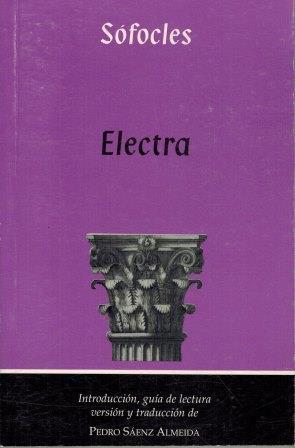 Portada ELECTRA - SOFOCLES - ATELA