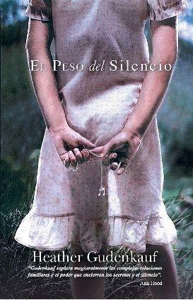 Portada EL PESO DEL SILENCIO - HEATHER GUDENKAUF - HARLEQUIN IBERICA