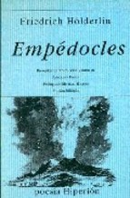 Portada EMPEDOCLES - FRIEDRICH HOLDERLIN - EDICIONES HIPERION