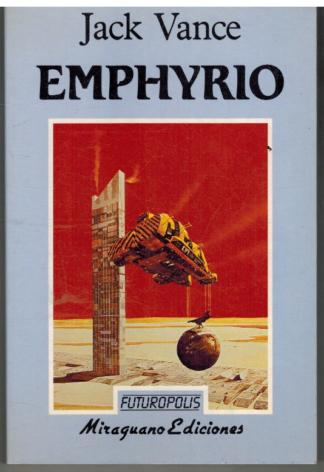 Portada EMPHYRIO - JACK VANCE - MIRAGUANO EDICIONES