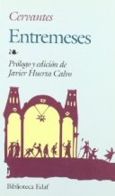 Portada ENTREMESES - MIGUEL DE CERVANTES - EDAF