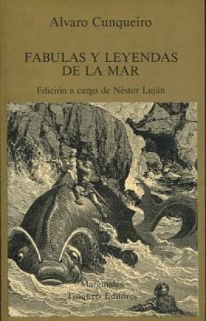 Portada FABULAS Y LEYENDAS DE LA MAR - ALVARO CUNQUEIRO - TUSQUETS