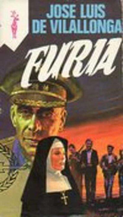 Portada FURIA - JOSE LUIS DE VILALLONGA - EDICIONES G.P