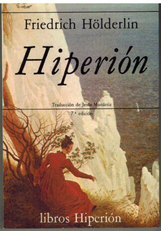 Portada HIPERION - FRIEDRICH HOLDERLIN - EDICIONES HIPERION