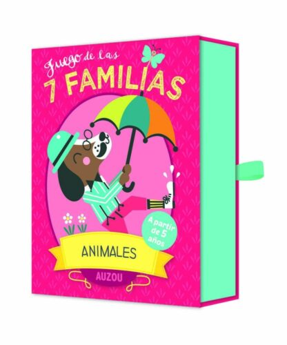 Portada JUEGO DE LAS 7 FAMILIAS. ANIMALES -  - AUZOU
