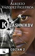 Portada KALASHNIKOV - ALBERTO VAZQUEZ-FIGUEROA - EDICIONES B ZETA