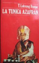Portada LA TUNICA AZAFRAN - T.LOBSANG RAMPA - MUNDO ACTUAL DE EDICIONES