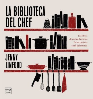 Portada LA BIBLIOTECA DEL CHEF - JENNY LINFORD - ESPASA CALPE