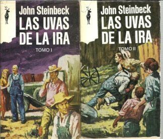Portada LAS UVAS DE LA IRA - JOHN STEINBECK - EDICIONES G.P